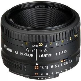 Lente Nikon 50mm Af F/1.8d Fx Nikkor