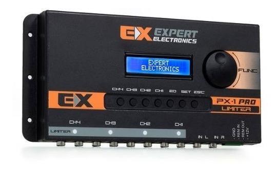 Expert Px1- Processador+crossover + Equalizador Banda 4 Vias