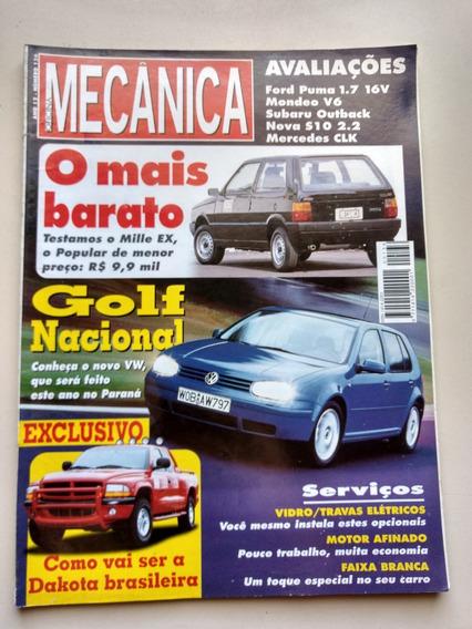 Revista Oficina Mecânica 136 Golf Subaru Uno S10 Dakota 065