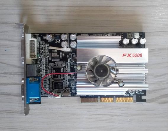 Placa De Vídeo Nvidia Ge Force Fx 5200