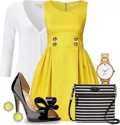 Lindo Vestido Moda Evangelica E Executiva Cod#yelow