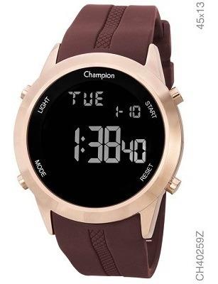 Relogio Champion Unissex Dourado Digital Ch40259z