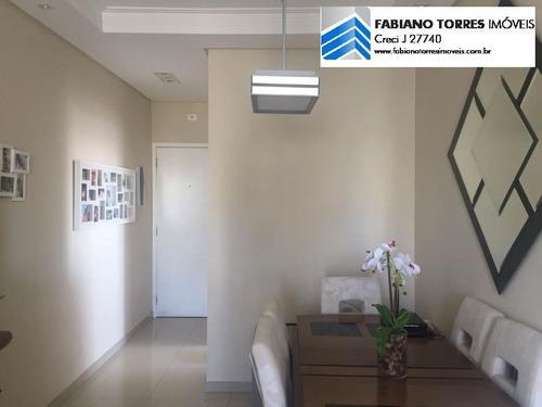 Apartamento Para Venda Em São Bernardo Do Campo, Centro, 2 Dormitórios, 1 Banheiro, 2 Vagas - 1658_2-683281
