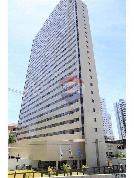 Flat Com 1 Dormitório Para Alugar, 33 M² Por R$ 2.300,00/mês - Pina - Recife/pe - Fl0167