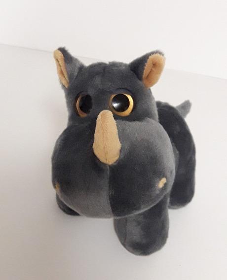 Rinoceronte De Pelúcia - 21 Cm