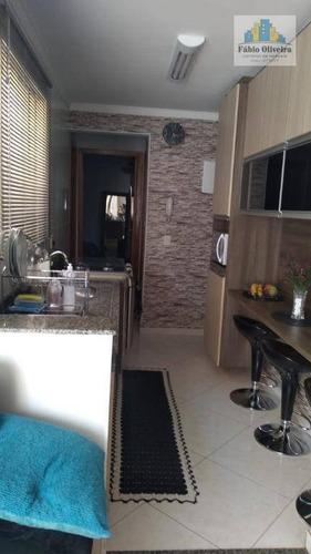 Imagem 1 de 24 de Cobertura Com 2 Dormitórios À Venda, 50 M² Por R$ 325.000,00 - Vila Helena - Santo André/sp - Co0162