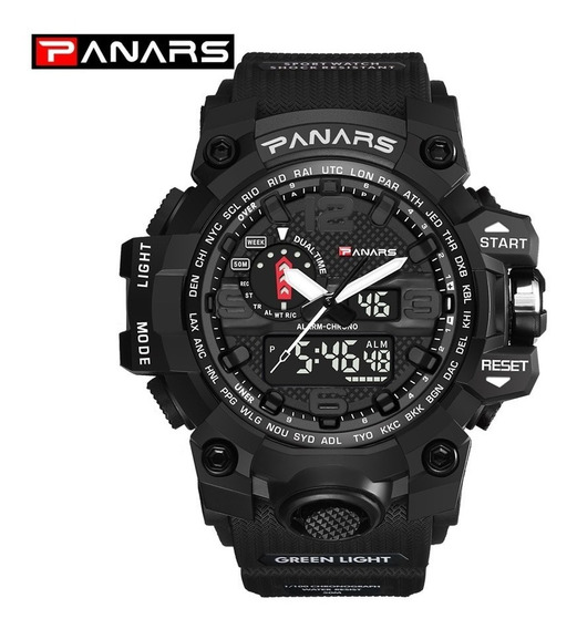 Relógio Esportivo Militar Modelo G Shock Panars Prova D