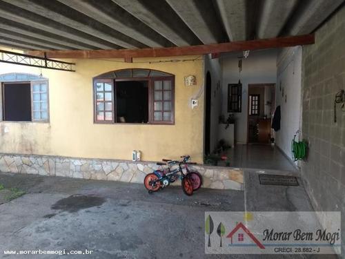 Casa Para Venda Em Mogi Das Cruzes, Conjunto São Sebastião, 3 Dormitórios, 1 Suíte, 2 Banheiros, 4 Vagas - 3181_1-1073533