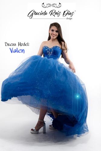 Vestido Hermoso De Quince (diseñadora Graciela Ruiz Diaz)