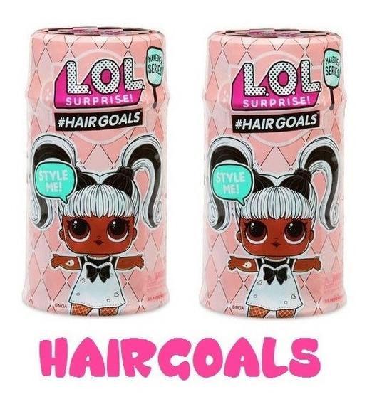 Muñeca Lol Surprise Hairgoals Originales Hair Goals 29 Verds