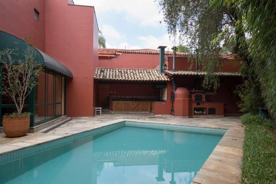 Casa Em Real Parque, São Paulo/sp De 533m² 4 Quartos À Venda Por R$ 2.500.000,00 - Ca191025