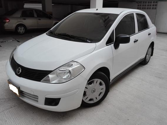 Nissan Tida Mio 1.600 Sedan Blanco Modelo 2014