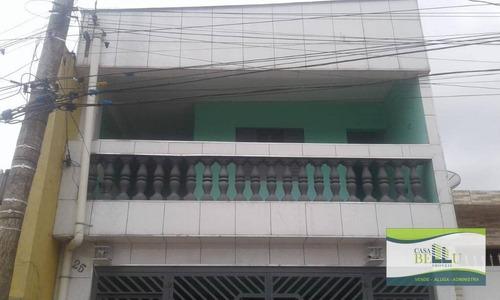 Casa Com 3 Dormitórios À Venda, 125 M² Por R$ 320.000,00 - Jardim Dos Bandeirantes - Franco Da Rocha/sp - Ca0588