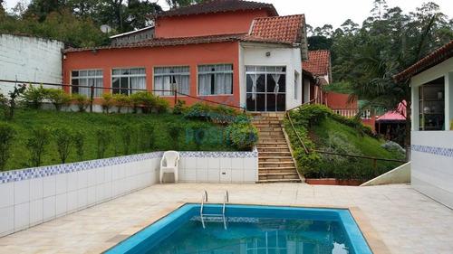 Imagem 1 de 15 de Chácara Para Venda Em Itapecerica Da Serra, Potuverá, 3 Dormitórios, 3 Suítes, 4 Banheiros, 10 Vagas - Ch00010_1-2025757