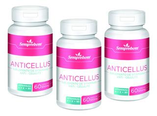 Suplemento Anticelulite Anticellus 180caps Sempre Bom