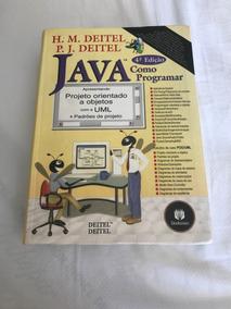 Livro Java Como Programar - Deitel