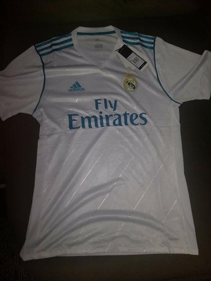 Camisa 1 Real Madrid 17/18 S/n Original