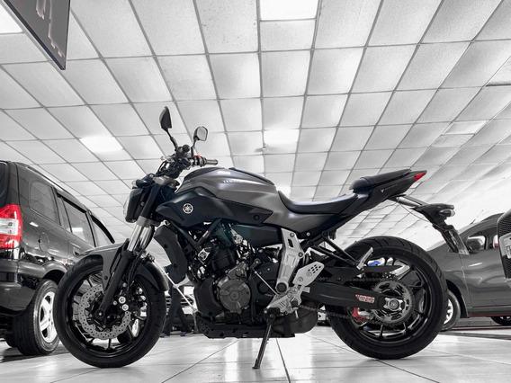 Yamaha Mt-07 Abs Ano 2017 Financiamos Em 36x Aceitamos Troca