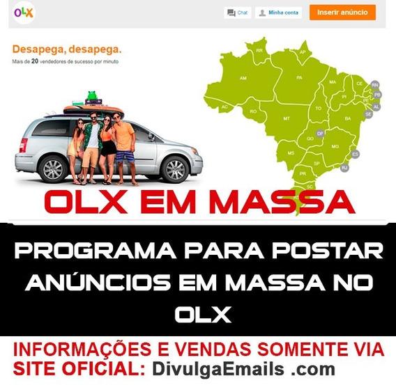 Software Para Divulgar Muitos Anúncios No Olx. Chance Única