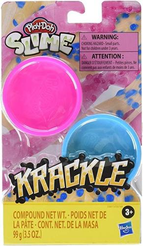 Slime Krackle Play-doh Hasbro E8788 Masas Educando