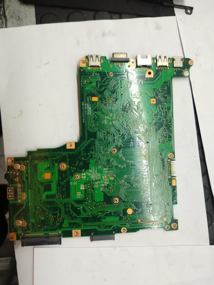 Placa Mãe Notebook Cce Ultra Thin U25l+e326167tc-com Defeito