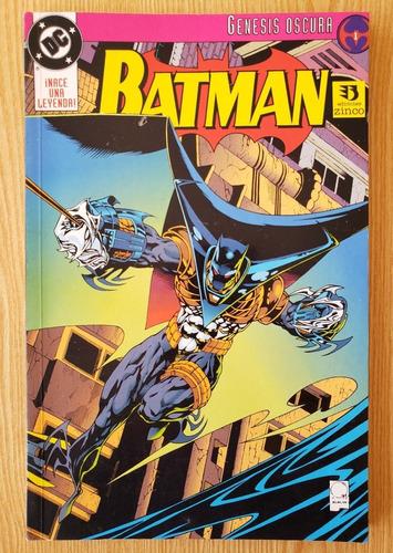 Imagen 1 de 1 de Batman Genesis Oscura (ediciones Zinco)