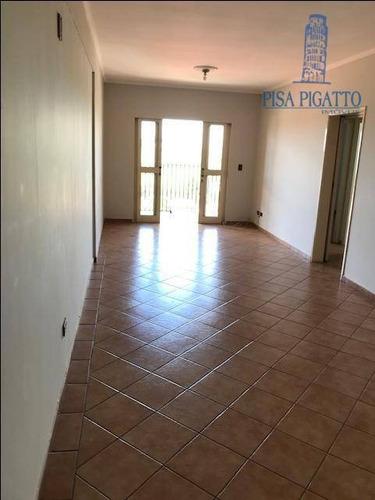 Apartamento À Venda, 85 M² Por R$ 350.000,00 - Edificio Paulo Raf - Paulínia/sp - Ap1135