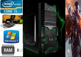 Intel I5 2400, Gtx 1050 2gb, 8gb Ram, Hd 500 Pc Gamer Melhor