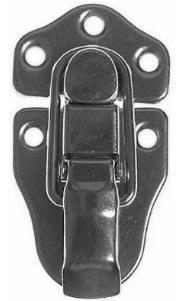Cerradura Negra Broche Rack Caja Trancadero Estuche Guitarra