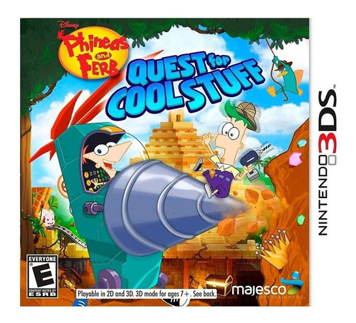 Phineas And Ferb Quest For Cool Stuff Juego 3ds