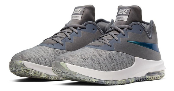 Tênis Nike Air Max Infuriate 3 Low Prata Basquete Nfe