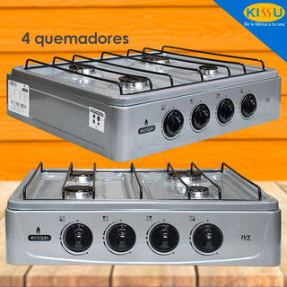 Cocineta Gas 4 Quemadores Ultra Rendimiento Garantia 1 Año