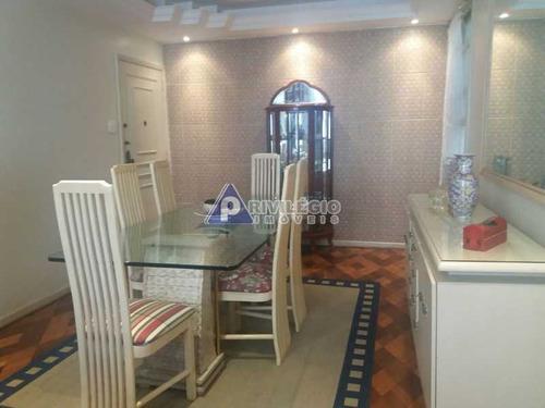 Apartamento À Venda, 3 Quartos, 1 Suíte, 1 Vaga, Copacabana - Rio De Janeiro/rj - 18240