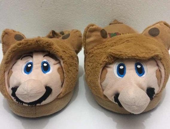 Pantunflas Super Mario 26cm Usadas