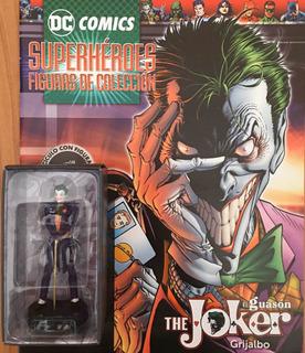 Dc Comics La Nación - Figura Joker + Fascículo