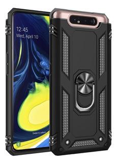 Capa Case Samsung Galaxy A80 Anti Impacto + Película Vidro