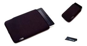 Capa Case Neoprene I Pad + Capa iPhone + Brinde