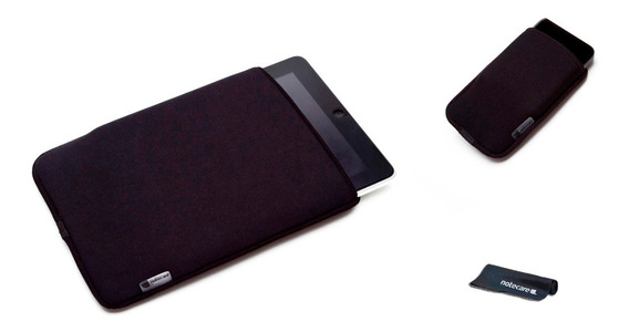 Capa Case Neoprene I Pad + Capa iPhone + Brinde