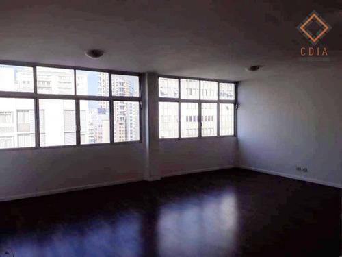 Imagem 1 de 30 de Apartamento Com 4 Dormitórios Para Alugar, 211 M² Por R$ 8.500,00 - Itaim - São Paulo/sp - Ap45691