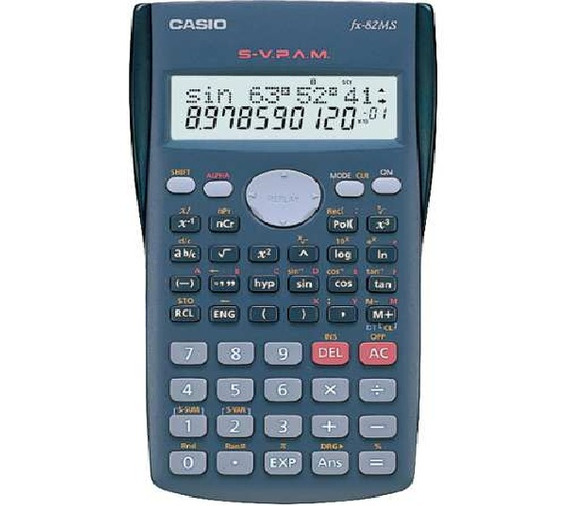 Calculadora Cientifica 240 Funções Estudantes Fx-82ms Casio