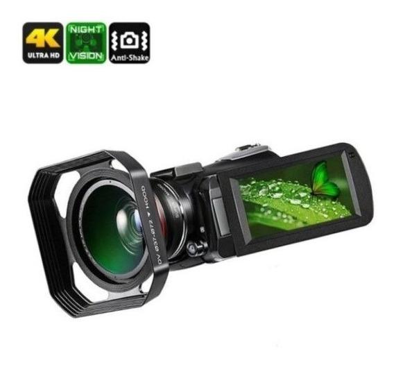 Filmadora Ordro Hdr-ac3 4k V. Not 30x Zoom Com Lente E Capuz