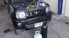 Aire Acondicionado Automotriz Carga De Gas Detección De Fuga