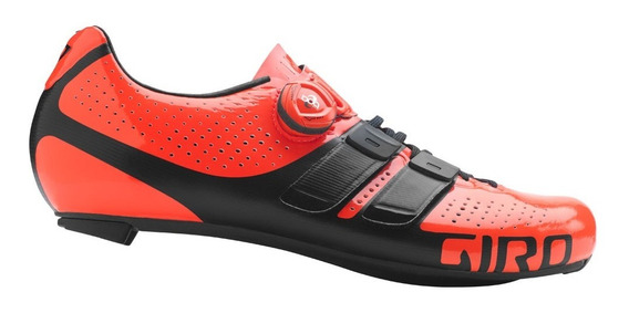 Zapatilla Ciclismo Giro Factor Techlace Ruta Boa Carbono