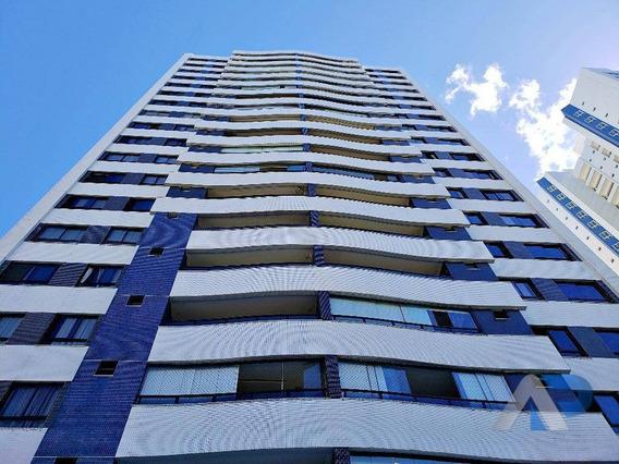 Apartamento À Venda, 143 M² Por R$ 860.000,00 - Cidade Jardim - Salvador/ba - Ap0269