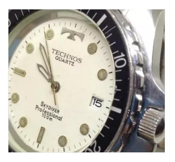 Relógio De Pulso Technos Skydiver 100m U01547 Webclock
