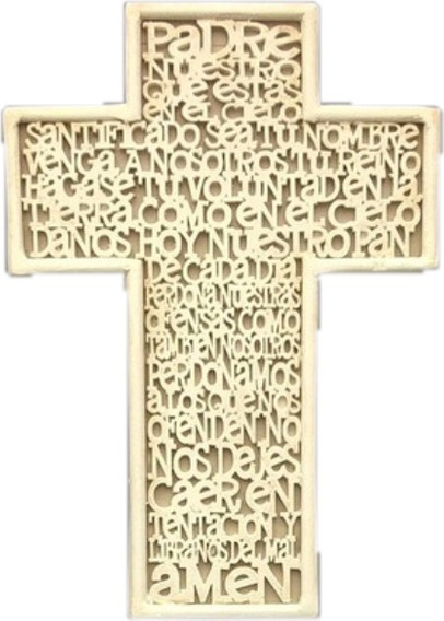 20 Cruces, Recuerdos O Bolos Cruz Padre Nuestro, Comunion,