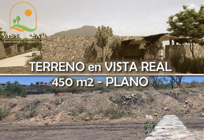 Oportunidad! Terreno De 450 M2 En Vista Real Country Club, Ganelo!