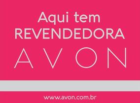 Placa Revenda Avon - 30x40cm Polipropileno. Frete Gratis