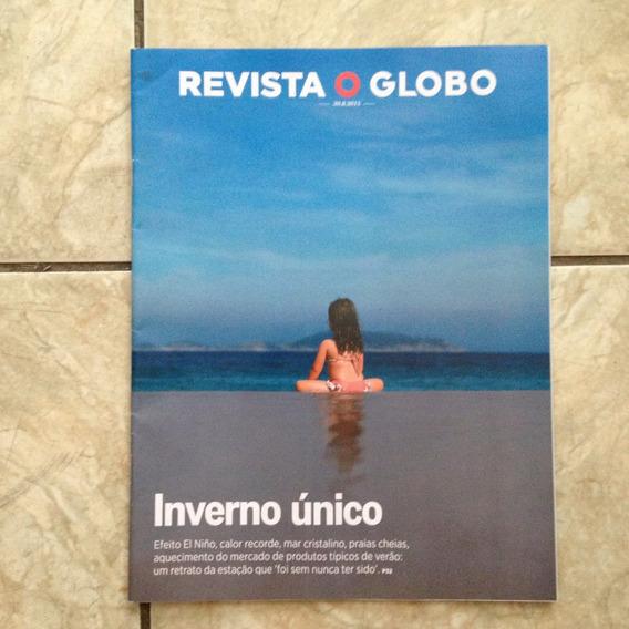 Revista O Globo 30.8.2015 Inverno Único Rio De Janeiro Mar