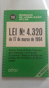 Livro Lei 4.320 De 17/03/1964